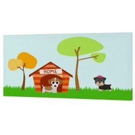 Mr. FOX Nástěnný obraz Dogs - pejsi, 27x54 cm