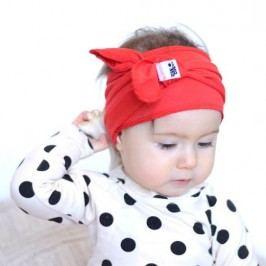 Lamama Dívčí čelenka - červená