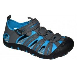 Bugga Chlapecké sandály - šedo-modré