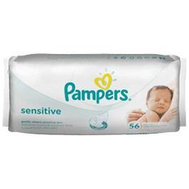 Pampers ubrousky Sensitive 56 ks