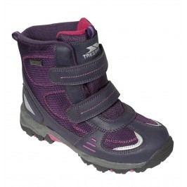 Trespass Dívčí kotníkové outdoorové boty Giz Gaz - fialové