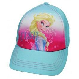 E plus M Dívčí kšiltovka Frozen - modrá