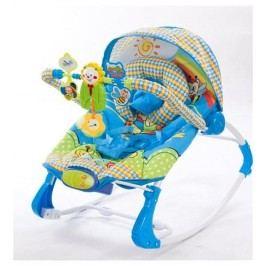Sun Baby Dětské lehátko s hudebním centrem a vibracemi, lvíček