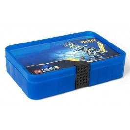 LEGO® Storage LEGO®NEXO KNIGHTS™ úložný box s přihrádkami - modrý