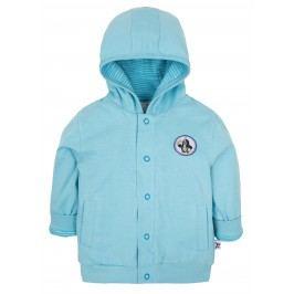 G-mini Chlapecký oboustranný kabátek Krteček a balón - modrý