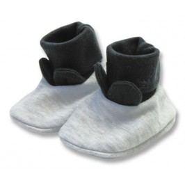 Lafel Chlapecké ponožky/ capáčky XOXO - šedé