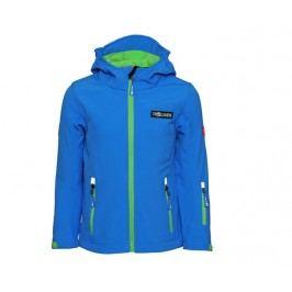 Trollkids Dětská modrá softshellová bunda - modrá