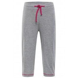 ALPINE PRO Dívčí capri kalhoty - šedé