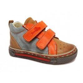 Ren But Chlapecké celokožené kotníkové boty - barevné