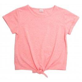 Topo Dívčí top s vazačkou - světle růžový