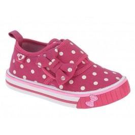 Beppi Dívčí voňavé tenisky s mašlí - růžové