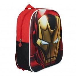 Disney Brand Dětský batůžek Avengers, červený