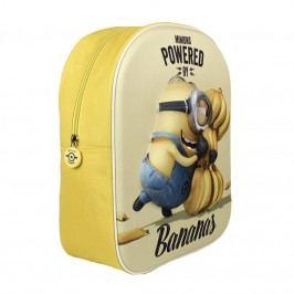 Disney Brand Dětský batůžek Mimoni 3D, žlutý