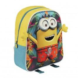 Disney Brand Dětský batůžek Mimoni 3D, Mimoň v šortkách