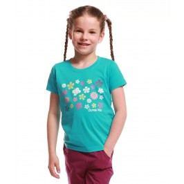 ALPINE PRO Dívčí tričko Silva - modré