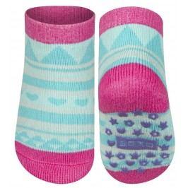 SOXO® Dívčí protiskluzové ponožky - modro-růžové