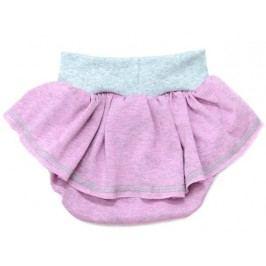 Lamama Dívčí kalhotky na plenu - růžovo-šedé