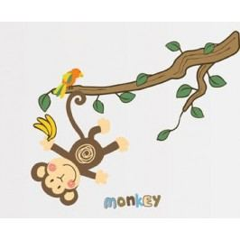 Ambiance Dekorační samolepky - Opička