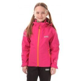 Nordblanc Dívčí nepromokavá bunda - růžová