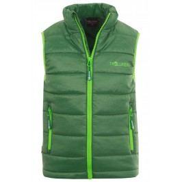 Trollkids Chlapecká vesta Trondheim - zelená