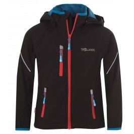 Trollkids Dětská bunda Rondane s odepínacími rukávy - tmavě modrá