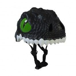 Crazy Safety Helma In-mold Černý drak vel. S (49-55 cm) 2017