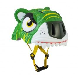 Crazy Safety Helma In-mold Zelený tygr vel. S (49-55 cm) 2017