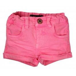 Dirkje Dívčí riflové šortky - růžové