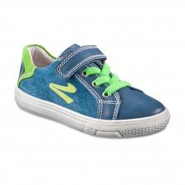 Richter Chlapecké semišové tenisky - modro-zelené