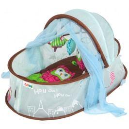 Ludi Cestovní postýlka pro miminko Nomad modrá