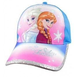 E plus M Dívčí kšiltovka Frozen - růžovo-modrá
