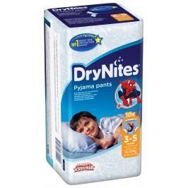 Huggies DryNites kalhotkové pleny pro chlapce 3-5 let (16-23kg), 10ks