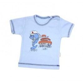 Mamatti Chlapecké tričko s delfínem - modré