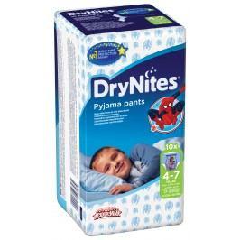 Huggies DryNites kalhotkové pleny pro chlapce 4-7 let (17-30kg), 10ks