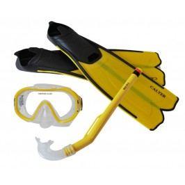 Sulov Dětský potápěčský set S06+M168+F41 PVC - žlutý