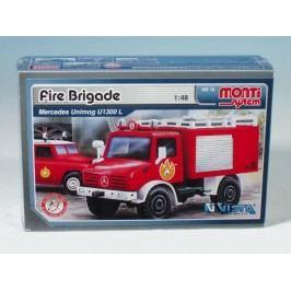 Vista Stavebnice Monti 16 Fire Brigade Mercedes Unimog 1:48