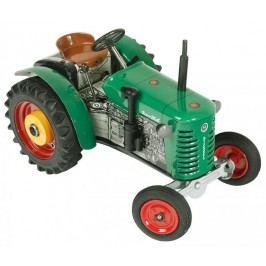 KOVAP Traktor Zetor 25A zelený na klíček kov 15 cm 1:25