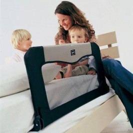 Baby Dan Cestovní zábrana k posteli + taška, černá - 90 cm