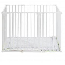 Baby Dan Dětská ohrádka Babydan Square playpen+matrace, bílá