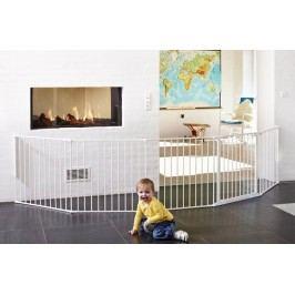 Baby Dan Prostorová zábrana Flex XXL, 90-350 cm - bílá