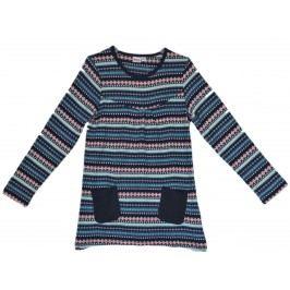 Topo Dívčí vzorovaná tunika s kapsami - barevné