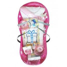 Cosing Startovací sada pro novorozence 13-dílná - fialová