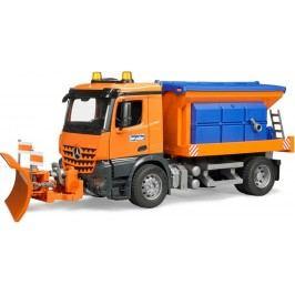 Bruder MB Unimog zimní servisní vozidlo s radlicí