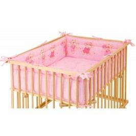 Scarlett Dětská hrací deka Jiřík, růžová (do ohrádky Honzík)