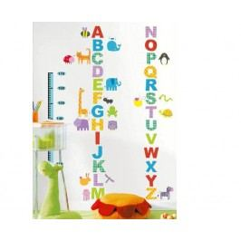 Ambiance Dekorační samolepky - abeceda a zvířátka