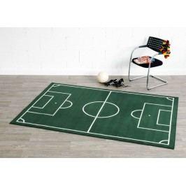 Hanse Home Dětský koberec Fotbalové hřiště, 80x150 cm - zelený