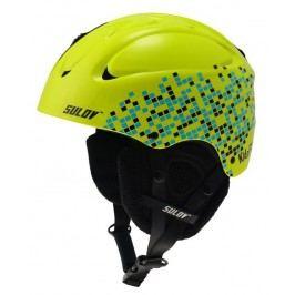 Sulov Lyžařská helma KidsFUN, zelená - velikost XXXS/XXS