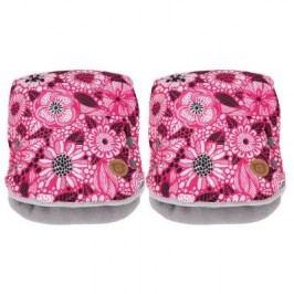 G-mini JEMI rukávník 2ks, růžová potisk