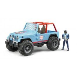 Bruder Jeep Cross country s řidičem 1:16