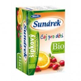 Sunárek BIO dětský čaj šípkový s pomerančem 20x1,5g
